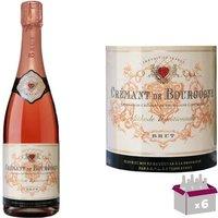 Cave de Lugny Crémant de Bourgogne Rosé vin ros...