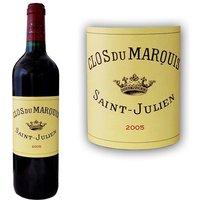 Clos du Marquis 2005 Saint Julien - Vin rouge de Bordeaux