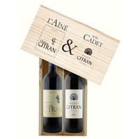 Coffret Citran et Moulin de Citran 2010 - Vin Rouge