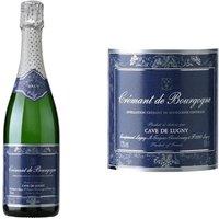 Cave de Lugny Crémant de Bourgogne Blanc vin bl...