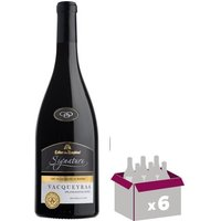 Cellier Des Dauphins Signature Vacqueyras Côtes du Rhône - Vin Rouge - 75 cl
