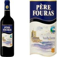 Vin pays Charentais Père Fouras vin rouge x1