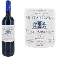Château Bayens 2011 Puisseguin Saint-Emilion - Vin rouge de Bordeaux