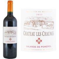 Château Les Chaumes 2013 Lalande Pomerol - Vin rouge de Bordeaux