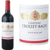 Château Croizet Bages 2014 Pauillac Grand Cru - Vin rouge de Bordeaux