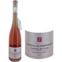 Château de Fabrègue AOP Costières de Nimes 2016 - Vin rosé