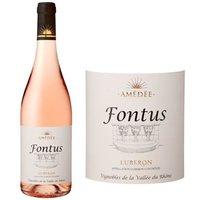 Amédée Fontus AOC Luberon 2016 - Vin rosé