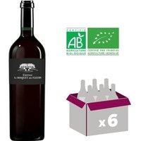 CHÂTEAU LE BOSQUET DES FLEURS 2015 Cuvée Dédicace Laurent ABBA Bordeaux Supérieur Vin Rouge - BIO - 75 cl x6