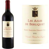 Les Ailes de Berliquet 2011 Saint Emilion Grand Cru - Vin rouge de Bordeaux