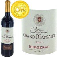 Château Grand Marsalet 2011 Bergerac - Vin rouge du Sud-Ouest