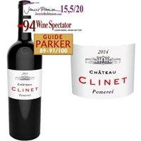 Château Clinet 2014 Pomerol Grand Cru - Vin rouge de Bordeaux