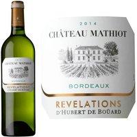 Château Mathiot Bordeaux 2014 - Vin Blanc