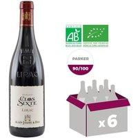 Alain Jaume Domaine du Clos de Sixte Lirac Bio 2015 - Vin rouge