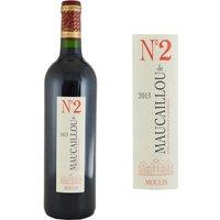 Numéro 2 de Maucaillou 2013 Moulis - Vin rouge de Bordeaux