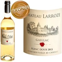 Château Larroze 2013 Gaillac vin blanc doux x1