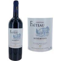 Château Faiteau 2015 Minervois - Vin rouge du Languedoc Roussillon