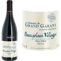 Domaine de Grand Garant 2016 Beaujolais Villages - Vin rouge du Beaujolais