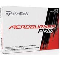 TaylorMade AeroBurner Pro Golf Balls (12 Balls)
