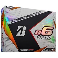 Bridgestone E6 Speed Golf Balls (12 Balls)