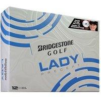 Bridgestone Ladies Lady Precept White Golf Balls (12 Balls)