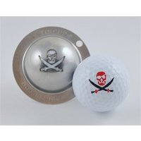 Tin Cup Ball Marker - Fire in the Hole