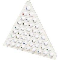 45 Ball Pyramid Display Rack
