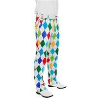 Royal And Awesome King Of Diamonds Golf Trouser