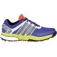 Adidas Mens Adipower Boost Golf Shoes (Night Flash/Silver/Solar)