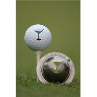 Tin Cup Ball Marker - 5 Oclock Somewhere