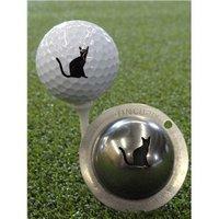 Tin Cup Ball Marker - Nine Lives