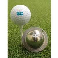 Tin Cup Ball Marker - Dragonfly