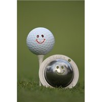 Tin Cup Ball Marker - Groovy