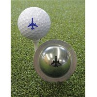 Tin Cup Ball Marker - Let it Fly