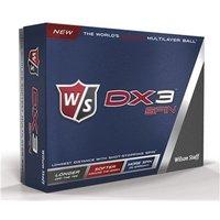 Wilson Staff DX3 Soft Spin Golf Balls (12 Balls)