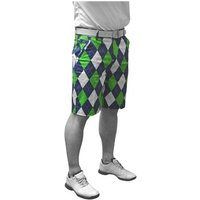 Royal And Awesome Mens Blues on the Greens Shorts