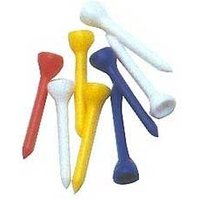 Golf Long Plastic Tees (40pk)