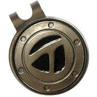 TaylorMade Ball Marker Hat Clip (Gunmetal)