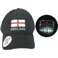 England Patriotic Flashing Golf Cap