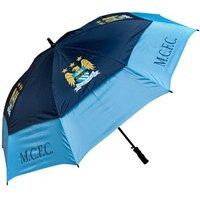 Manchester City Tour Vent Double Canopy Golf Umbrella