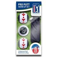PGA Tour Pro Putting Warm Up Set