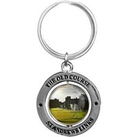 St Andrews Double Sided Golfers Key Ring