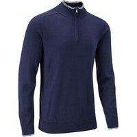 Stuburt Mens Vapour Casual Zip Neck Sweater