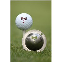 Tin Cup Ball Marker - Double 007