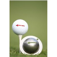 Tin Cup Ball Marker - One Way