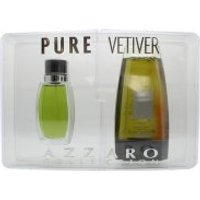 Azzaro Pure Vetiver Gift Set 75ml EDT + 150ml Shampoo