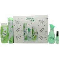 Coty Chanson d'Eau Gift Set 100ml EDT + 15ml EDT + 200ml Shower Gel + 200ml Deodorant Spray