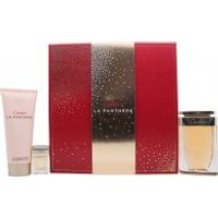 Cartier La Panthere Gift Set 75ml EDP + 6ml EDP + 100ml Body Lotion