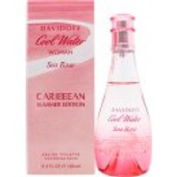 Davidoff Cool Water Woman Sea Rose Caribbean Summer Edition EDT 100ml Spray