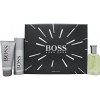 Hugo Boss Boss Bottled Gift Set 100ml EDT + 100ml Shower Gel + 150ml Deodorant Spray