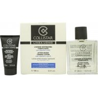 Collistar Uomo Gift Set 100ml Aftershave Toning Lotion + 30ml Daily Revitalizing Anti Wrinkle Cream